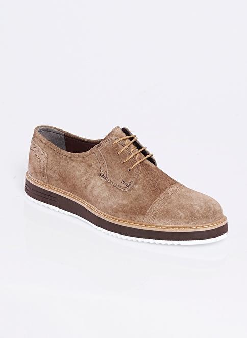 Altınyıldız Classics %100 Deri Bağcıklı Ayakkabı Vizon